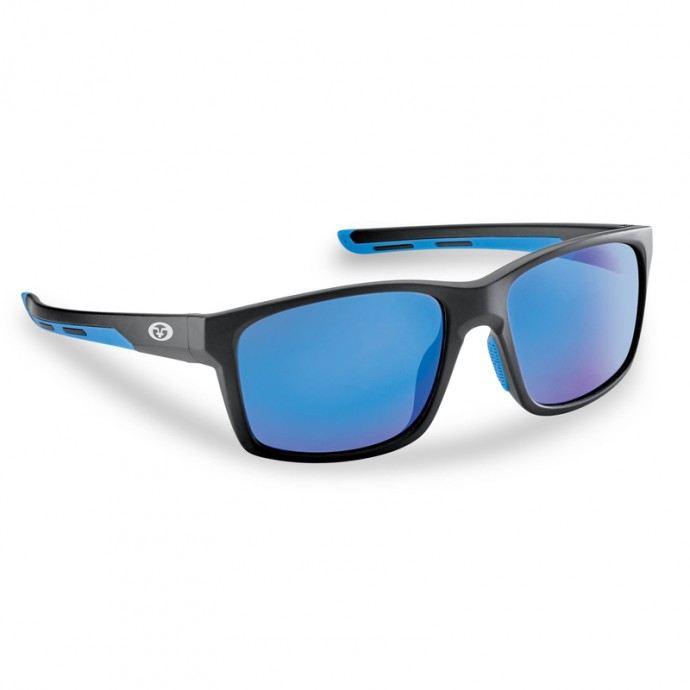 FLYING FISHERMAN FREELINE Matte Black / Blue Mirror